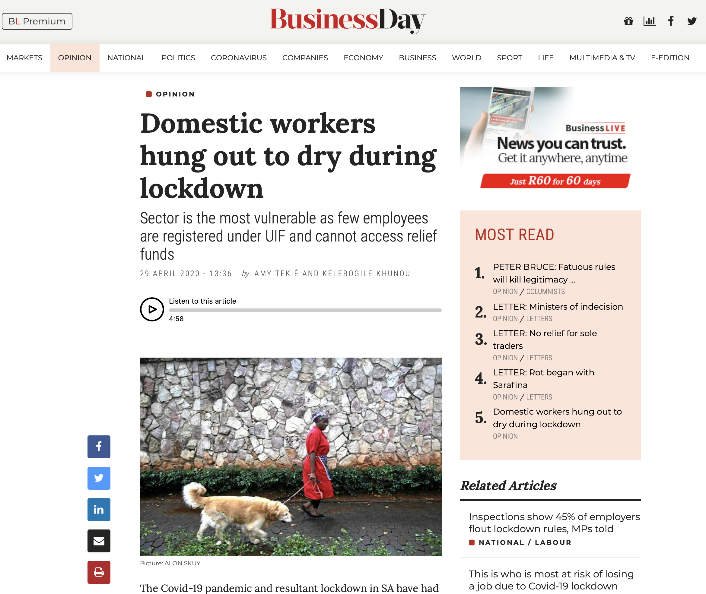 op ed domestic workers