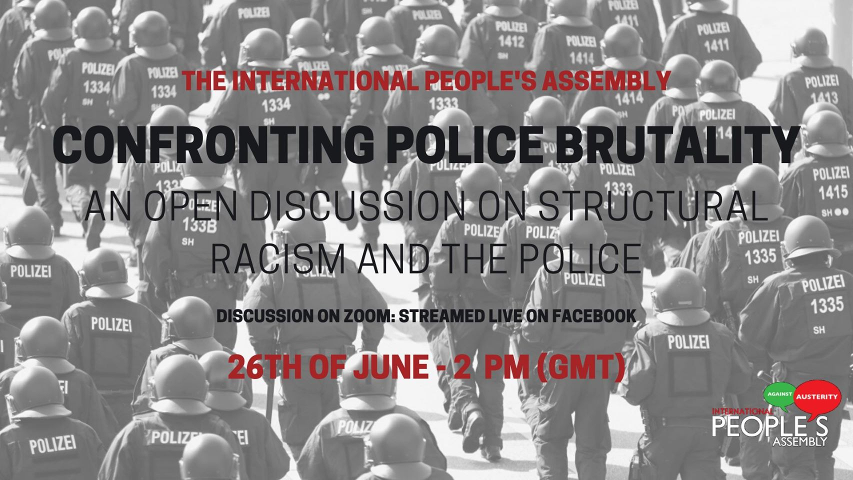 Confronting police brutality International Peoples Assembly
