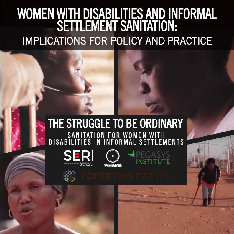 women with disabilities and informal settlement sanitation policy brief