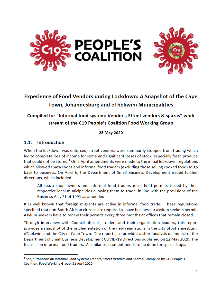 Peoples Coalition Report image